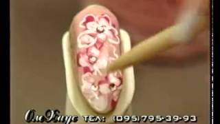 Урок рисования на ногтях