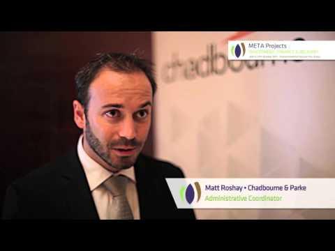 Testimonial Matt Roshay, Chadbourne and Parke