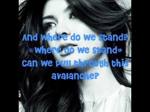 Avalanche by Marie Digby + Lyrics on Screen