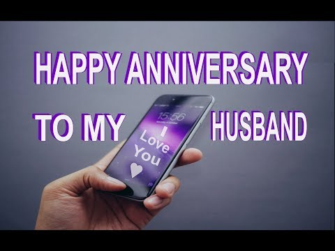 Happy anniversary to my husband free for him ecards greeting