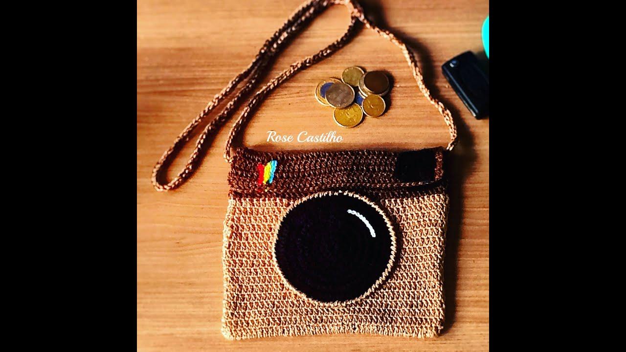 Bolsa Em Passo Fundo : Bolsa do instagram em croch? passo a