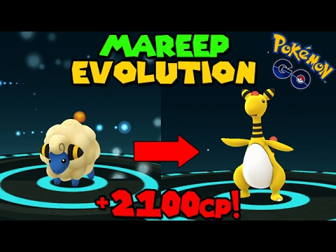 Evolving Mareep To Ampharos Pokemon Go Gen 2 Evolution Youtube