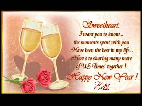 a happy new year 2017 wishes for my sweetheart youtube