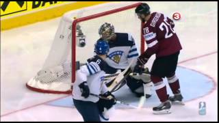 Latvia vs. Finland IIHF 2014 (3:2)