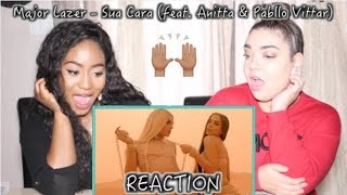Major Lazer - Sua Cara (feat. Anitta &amp Pabllo Vittar) (Official Music Video) REACTION