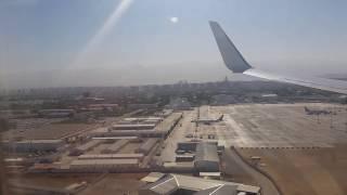 Landing at Ashgabat International Airport ASB - Air Turkmenistan