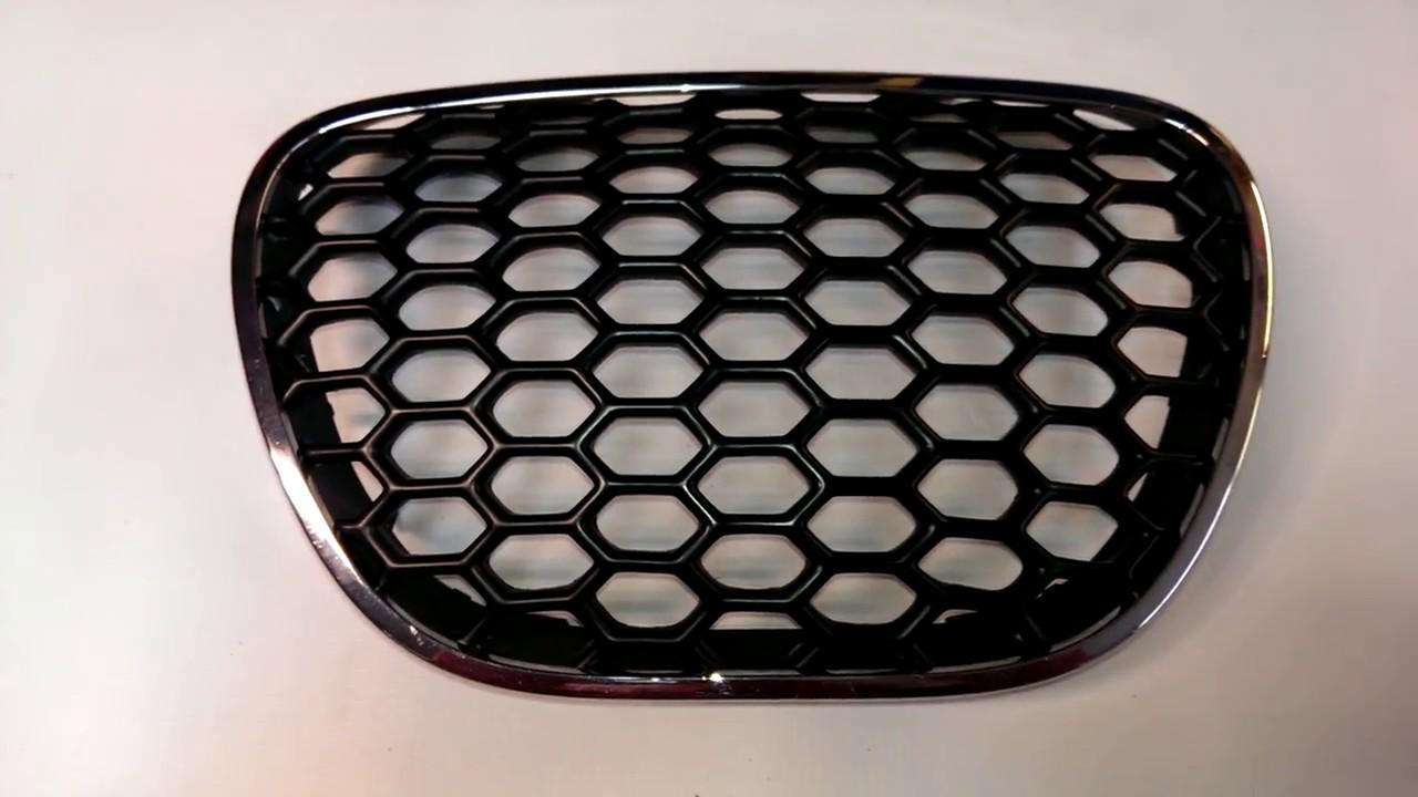Grill Seat Ibiza 02 08 Z Siatką Abs Carbonplast