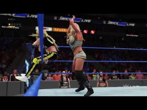 WWE 2K18 Smackdown Live Charlotte Flair vs Liv Morgan: February 6, 2018 thumbnail