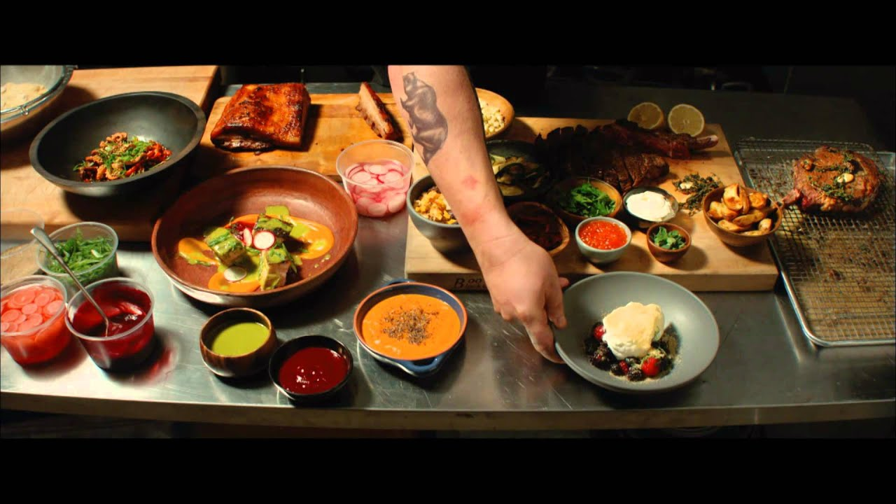 Youtube for American cuisine film