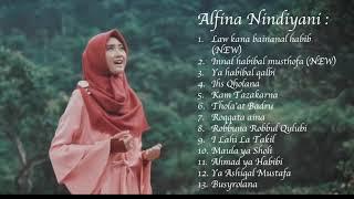 Gambar cover Sholawat Terbaru | Alfina Nindiyani Mp3 Full Album KOMPILASI Sholawat Enak di Dengar