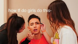 LETTING BOTH MY GIRLFRIENDS DO MY MAKEUP...