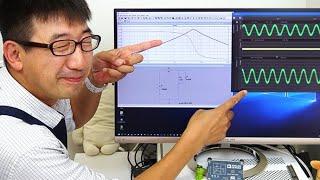 バンドパスフィルタで特定の周波数範囲を扱う