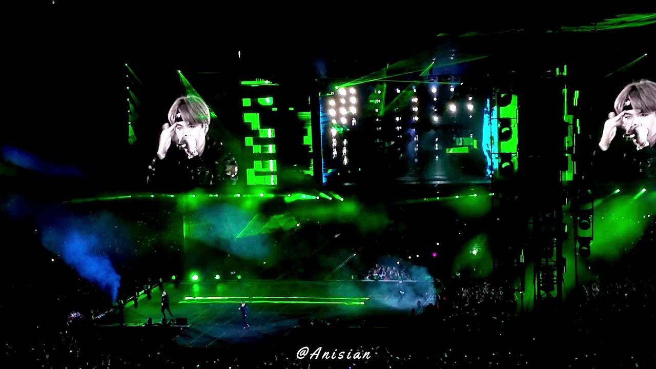 Outro: Tear   BTS Speak Yourself Concert Metlife 190519 ...