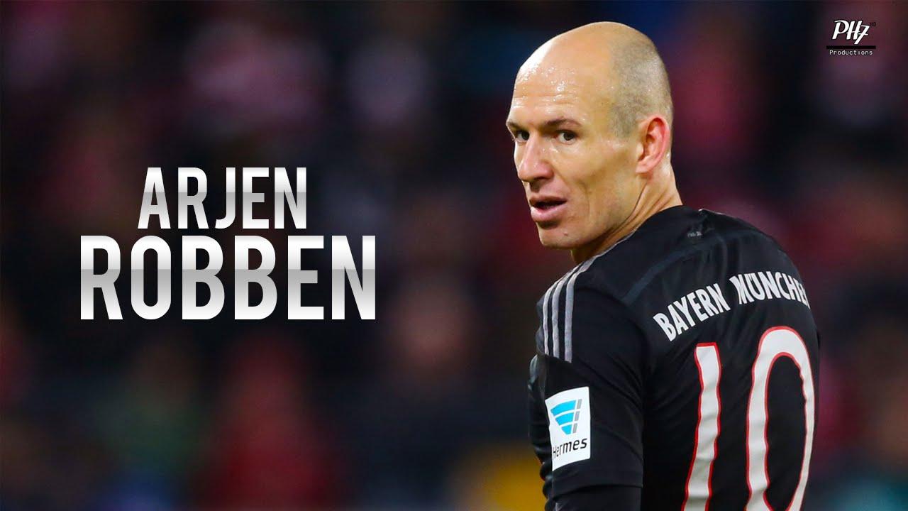 Arjen Robben FC Bayern München Skills & Goals 2015 HD