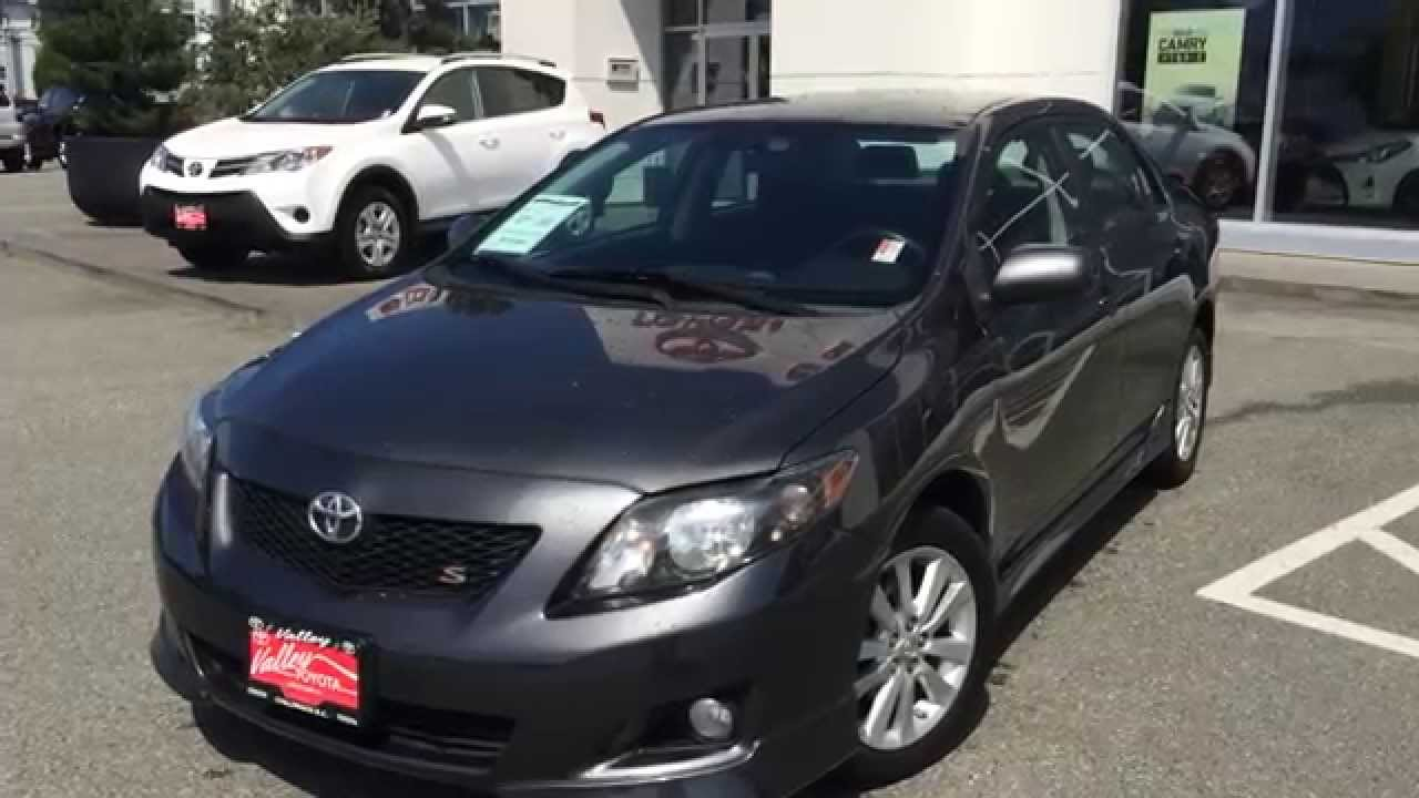 (SOLD) 2010 Toyota Corolla S Preview, For Sale At Valley Toyota Scion In  Chilliwack B.C. # B1437