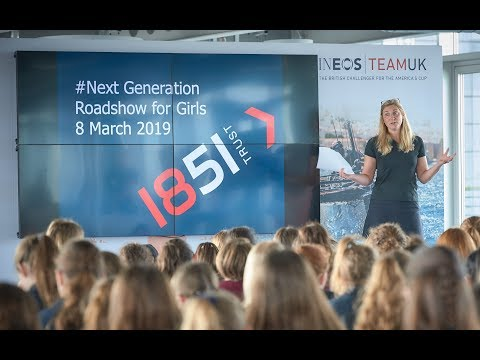 Next Generation Roadshow for Girls on #InternationalWomensDay