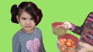 YES, YES VEGETABLES SONG!  NURSERY RHYMES SONGS FOR KIDS
