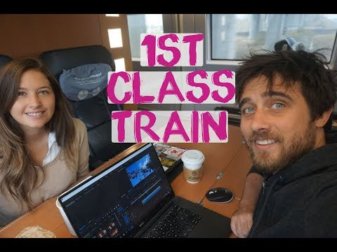 First Class Train Germany Europe   Europe Overland Berlin To London By Train
