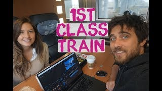 First Class Train Germany Europe | Europe Overland Berlin To London By Train