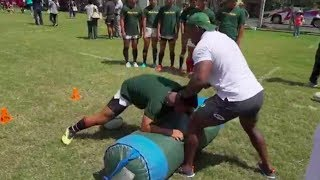 Rugby World Cup | Springboks | Coaching Clinic in Japan