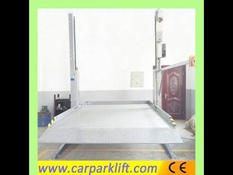 Part 1 of  installation of two post parking lift----- Qingdao Telian Machinery Co.,Ltd.