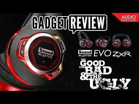 Uboxing / Review | Creative Sound Blaster Evo ZXR Headphones