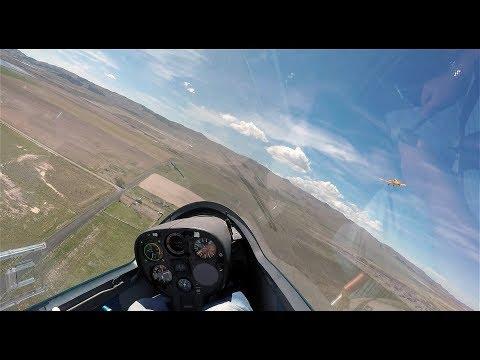 Glider Emergency Rope Break at 200ft Practice
