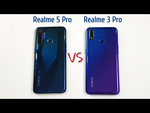 Realme 5 Pro vs Realme 3 Pro SpeedTest Camera Comparison