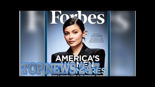 Forbes trolled online for naming Kylie Jenner