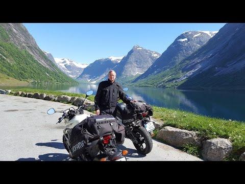 Motorcycle Tour Norway  Hol - Aurland, Vikafjellet, Gaularfjellet and  Sognefjorden