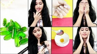 TOP 7 USES OF VITAMIN-E CAPSULES-OIL for SKIN, HAIR, NAILS AND FACE| Vitamin-E Oil Benefits