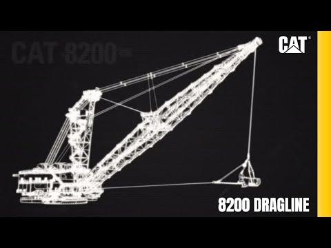 Cat® 8200 Dragline Virtual Product Tour