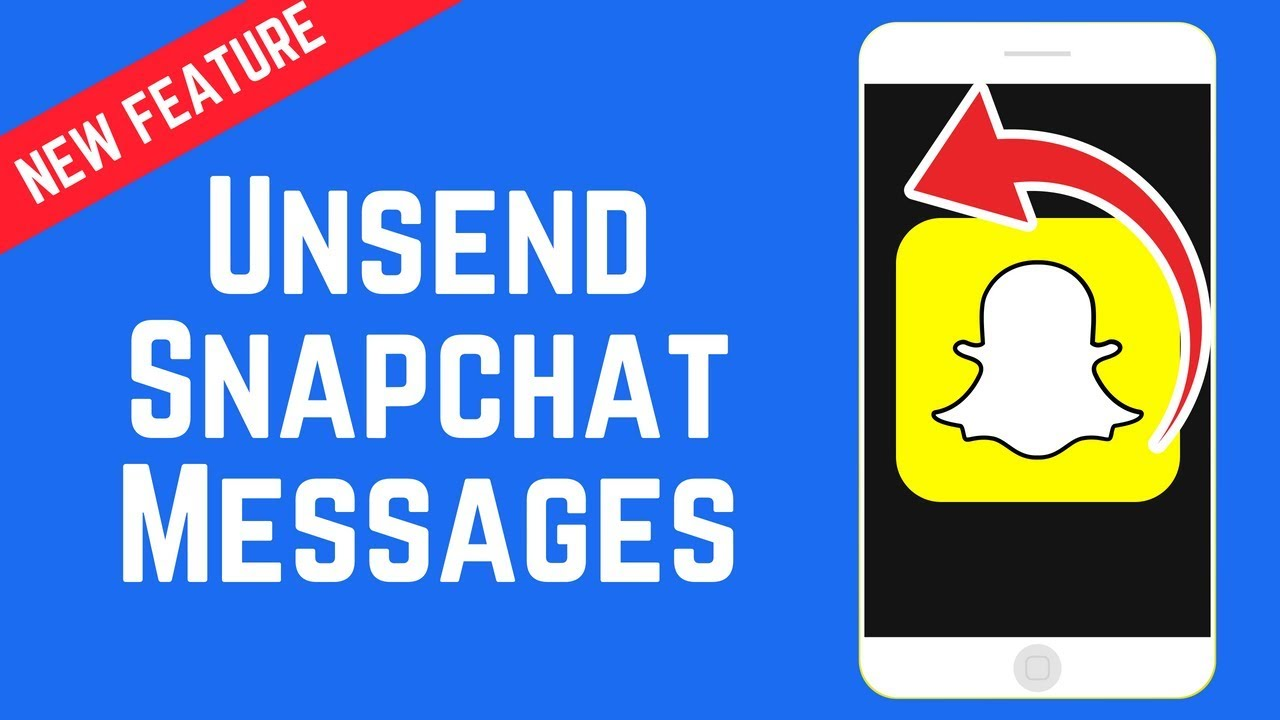 How To Unsend And Delete Snapchat Messages New Feature June 2018 Youtube