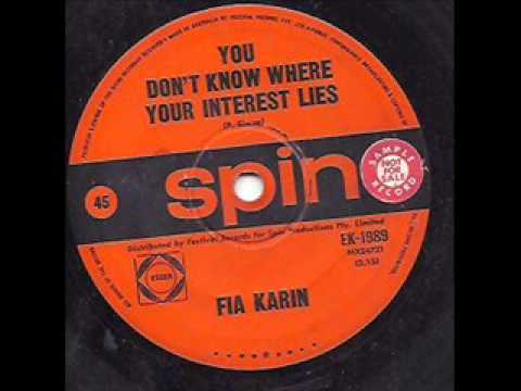 Fia Karin - You don't know where your interest lies