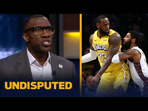Skip & Shannon discuss if Kyrie is questioning LeBron's leadership with coalition | NBA | UNDISPUTED