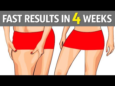 How to lose weight on your hips and thighs
