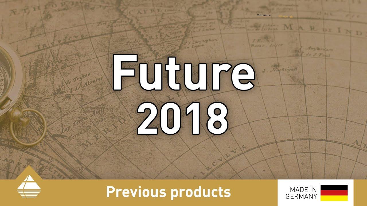 Metalldetektor Future 2018 Von Okm Future Serie Youtube