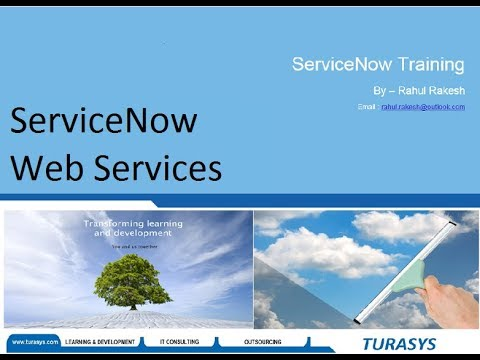 ServiceNow WebServices (SOAP / REST)