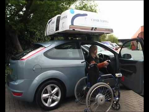Steering Developments Chair Topper rooftop wheelchair stowage system