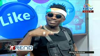 #theTrend: Rayvanny and producer Lizer on the secrets behind their great hits
