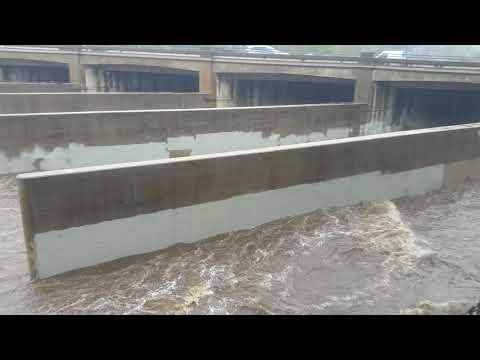 LOS ANGELES RIVER FLOODS FIRST DAY OF SPRING 2018