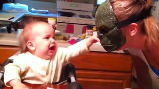les vidéos les plus drôles pour les enfants effrayés de masque