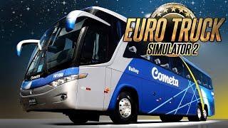 EURO TRUCK SIMULATOR 2 - Como jogar com ÔNIBUS na versão 1.28