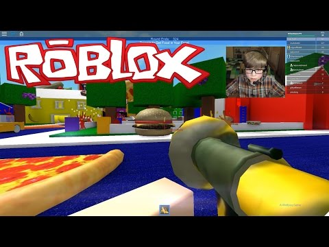 FOOD FIGHT!!! Roblox