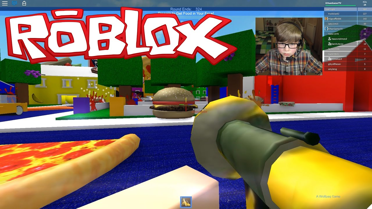 Food Fight Roblox Youtube