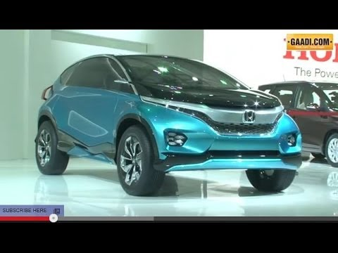 honda mobilio new jazz at 2014 auto expo youtube