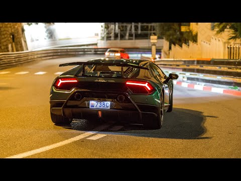 The EPIC Monaco Supercar Nightlife 2019 #21 (Aventador SV, ABT RS6, Performante, Akrapovic M6)