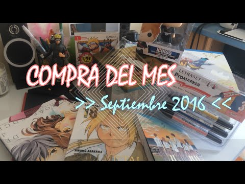 unboxing-compra-manga-y-anime-|-septiembre-2016