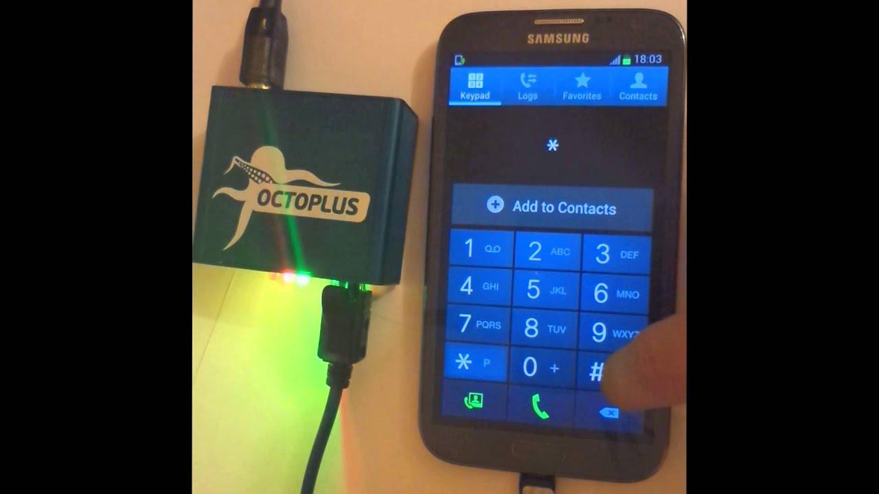 Samsung GT-N7100 (Galaxy Note 2) Repair IMEI with Octoplus
