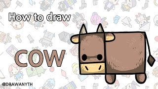How to draw COW / animal